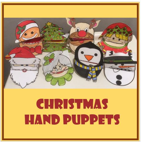 Christmas Crafts - Hand Puppets